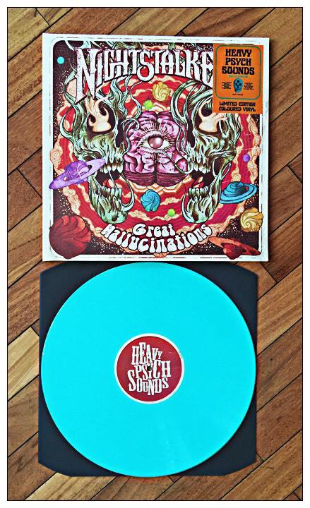Great Hallucinations (LP)-Clear Water Green Vinyl