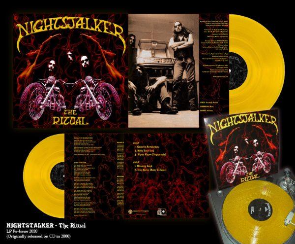 The Ritual-Sun Yellow Vinyl
